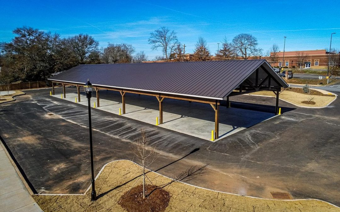 A Closer Look at Magnum Contracting's Work on the Dawsonville Farmers Market