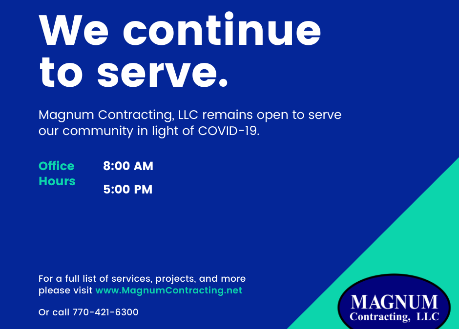 Magnum Contracting and COVID-19